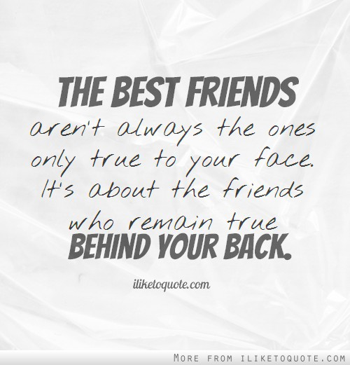 Quotes about Backstabbing Friends (25 quotes)