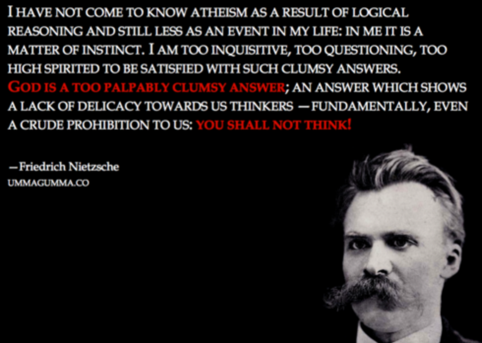 nietzsche s rejection of traditional morality Nietzsche's genealogy of morals here, nietzsche uses the term genealogy in its fundamental sense: an account (logos) of the genesis of a thing he is going to offer a theory of the genesis of christian morality, which he believes is also democratic morality.