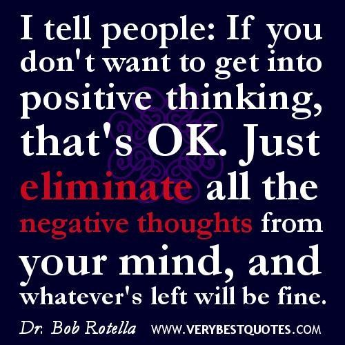 Quotes About Negative Thought And Attitude 17 Quotes