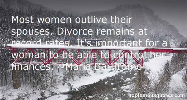 Quotes about Divorce Rates (33 quotes)