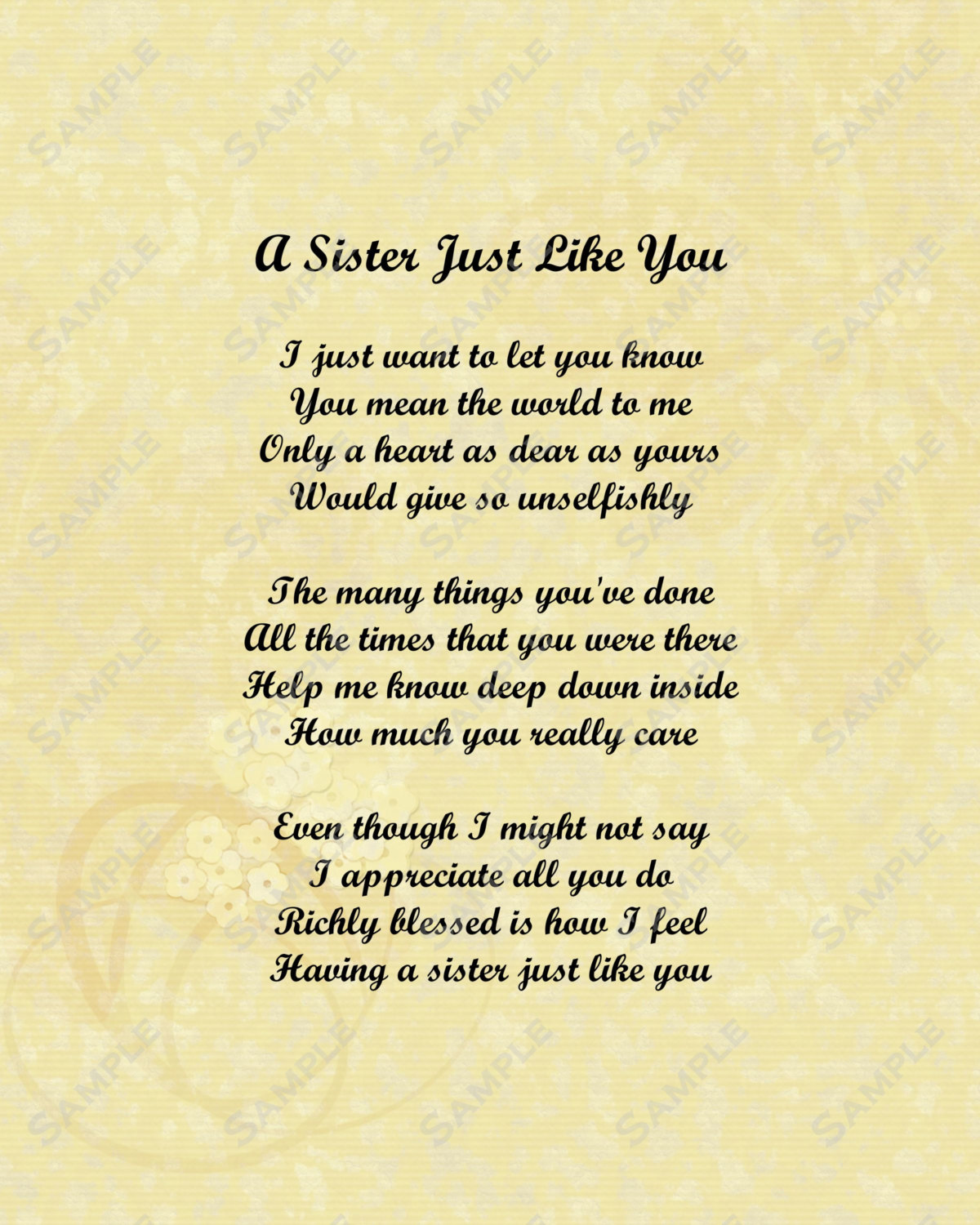 Quotes about Sister support (72 quotes)
