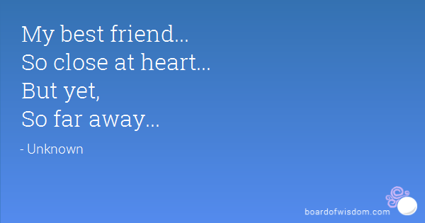 quotes about away friends quotes