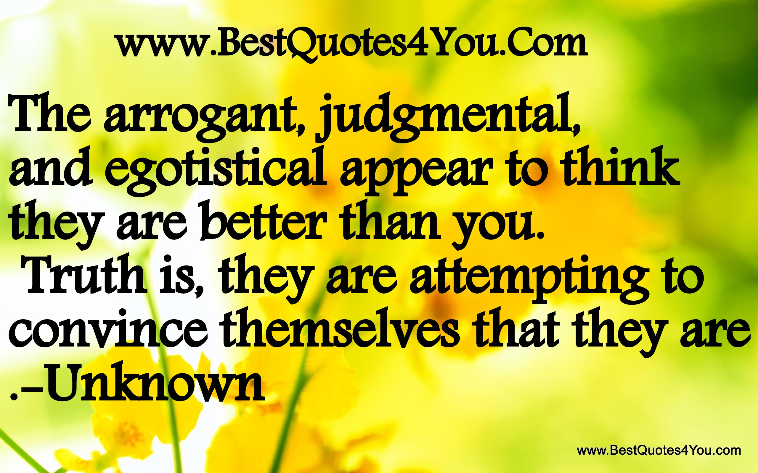 Quotes About Arrogant People 66 Quotes