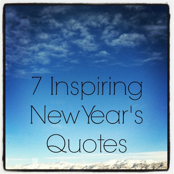 quotes about new years inspirational quotes