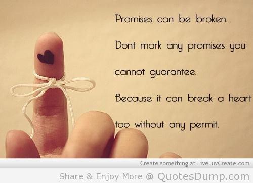 not to break