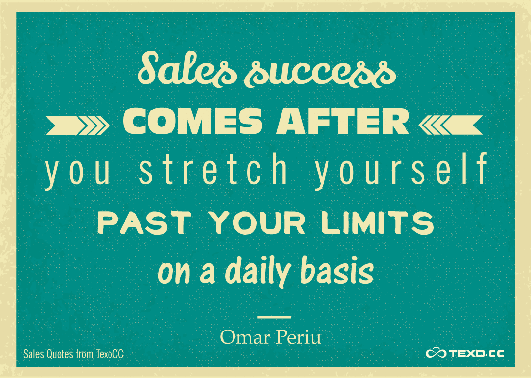 Quotes about Succeeding in sales 20 quotes