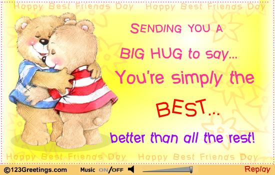 Quotes about Friendship hugs (26 quotes)