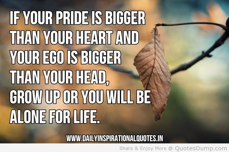 quotes about big ego quotes