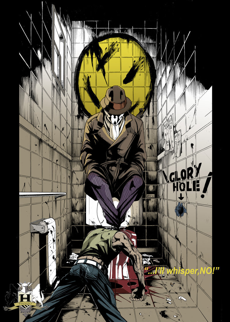 Ill no rorschach quotes watchmen whisper Watchmen (comics)/Quotes