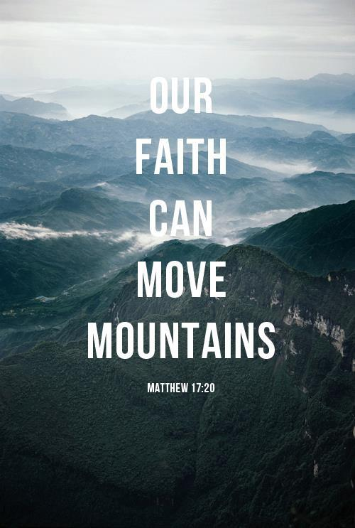 Love can move mountains quote