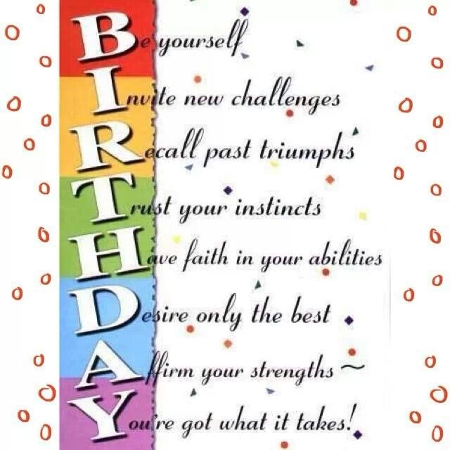 Quotes about Birthday day (116 quotes)