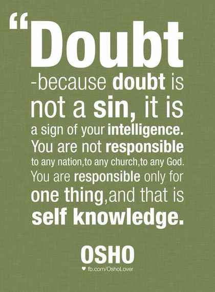 Quotes About Self Doubt 185 Quotes