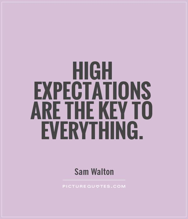 Quotes about Not setting expectations 22 quotes