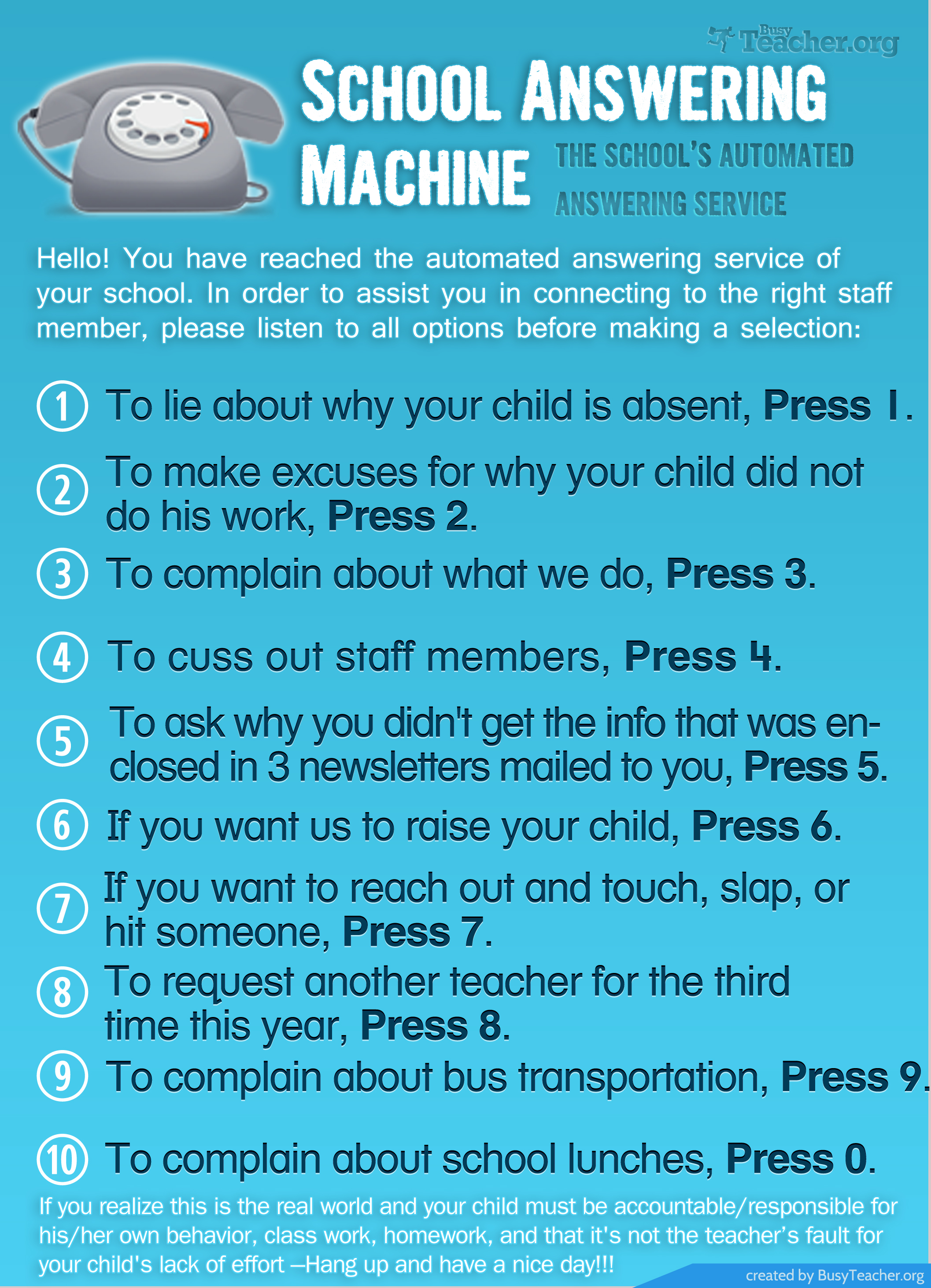 Clever answering machine greetings choice image greeting card examples quotes about answering machine 44 quotes kristyandbryce choice image kristyandbryce Image collections