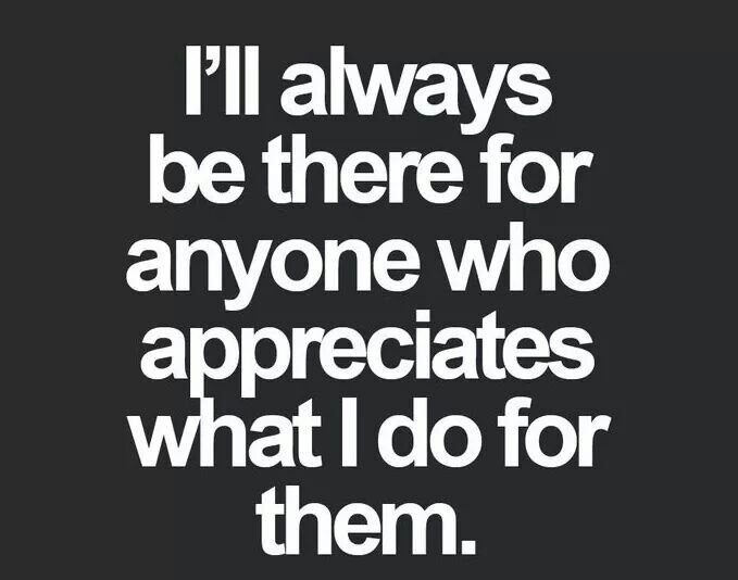 Quotes about Feeling appreciated (37 quotes)