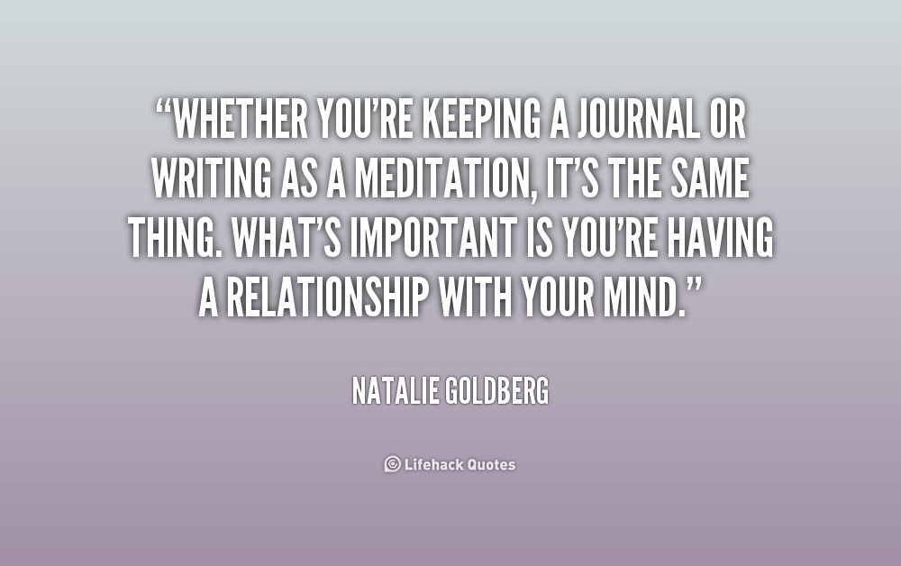 Quotes About Journal Writing 48 Quotes