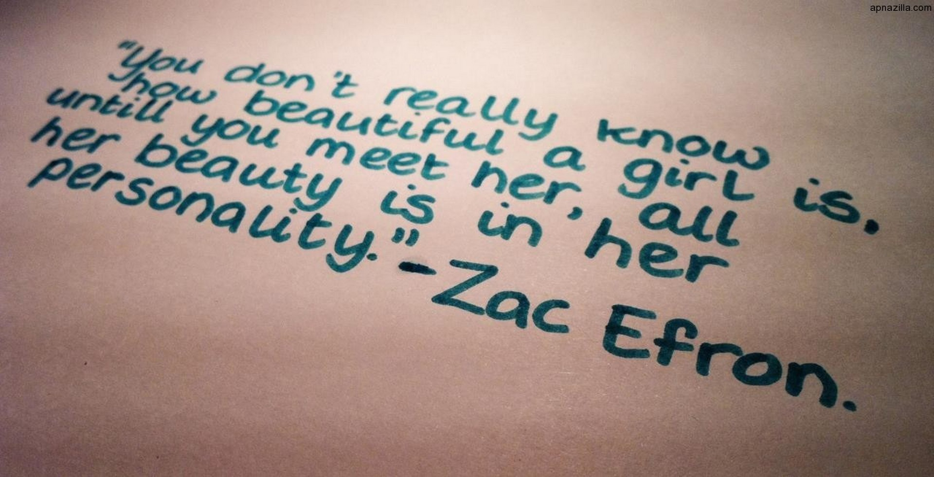 Best quotes on beauty of a girl