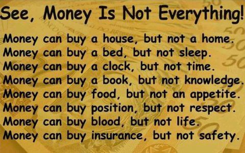 Money is not everything essay