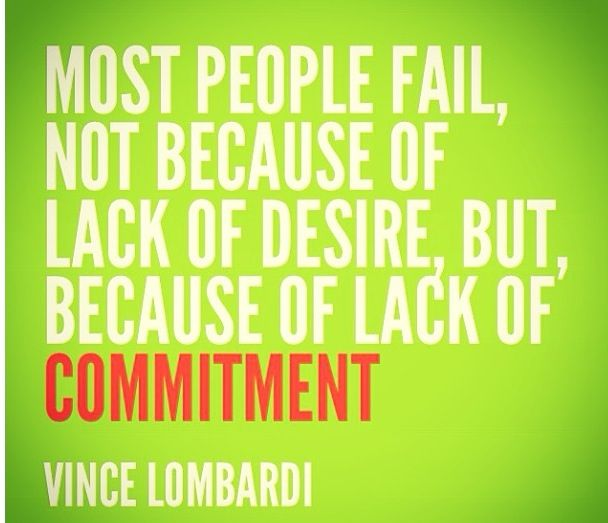 Quotes About Commitment To Fitness 21 Quotes