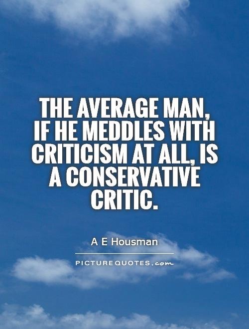 Quotes About Critics 582 Quotes