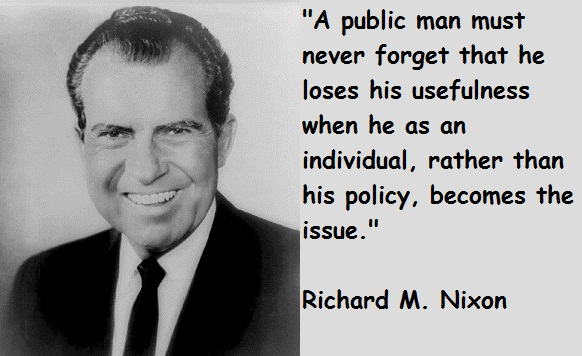Richard Nixon Quotes Impressive Quotes About Richard Nixon 48 Quotes