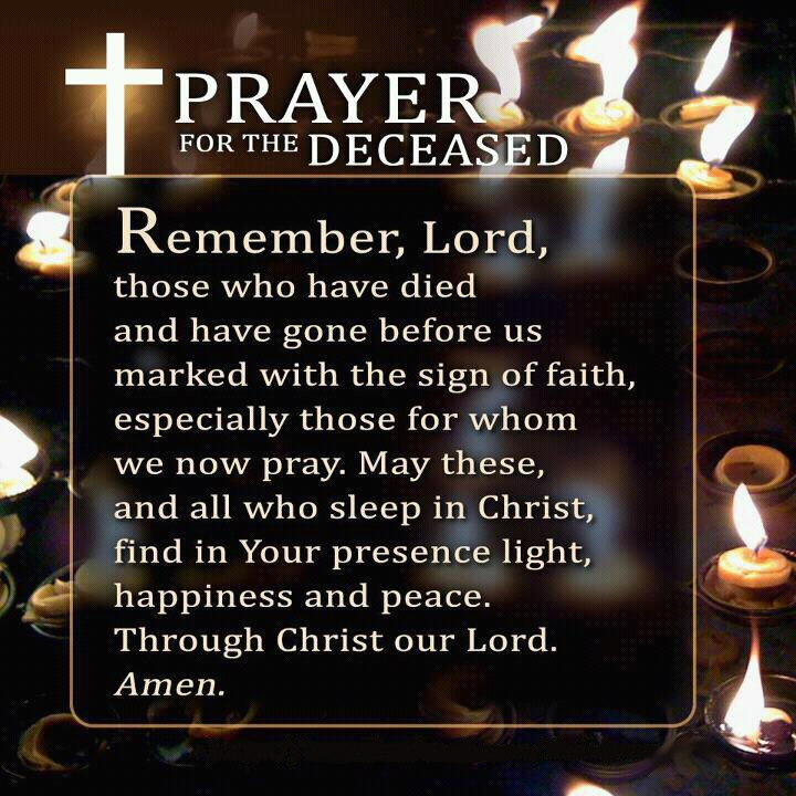 quotes about praying for the dead quotes