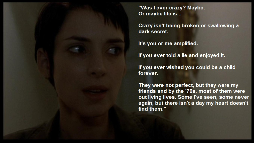 Quotes about Girl interrupted (60 quotes)