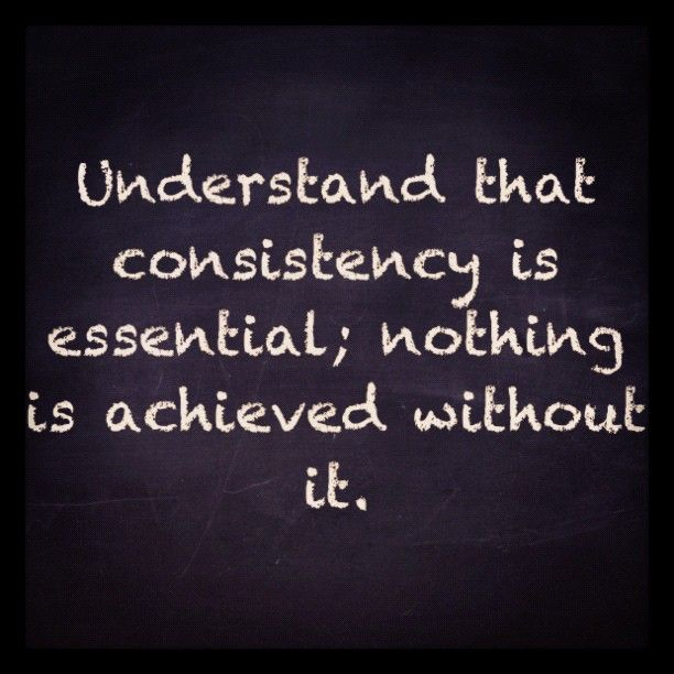 Quotes About Consistent Performance 34 Quotes