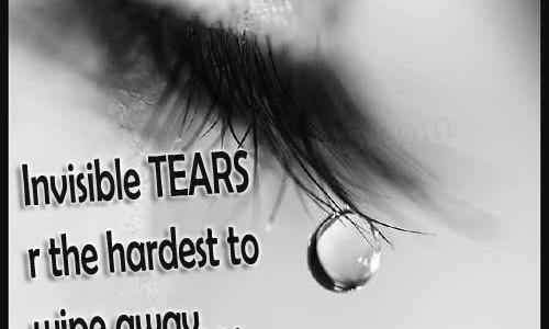 Sad Crying Eyes With Malayalam Quotes