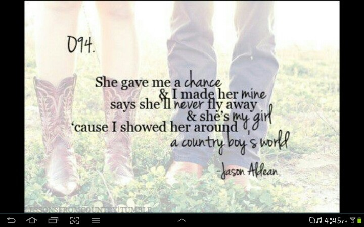 Quotes about Country love songs (68 quotes)