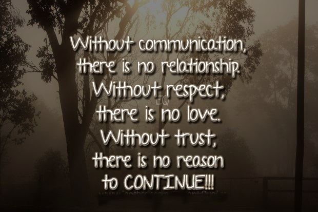 Quotes about Respect love and trust (37 quotes)