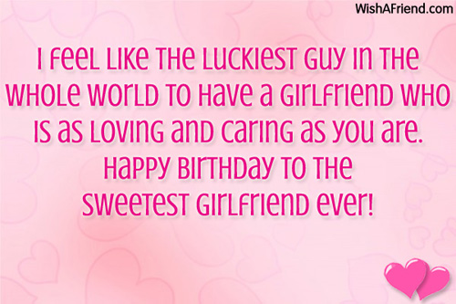 Peachy Quotes About Happy Girlfriend 24 Quotes Funny Birthday Cards Online Fluifree Goldxyz