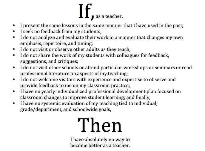 academic goals of becoming an teacher