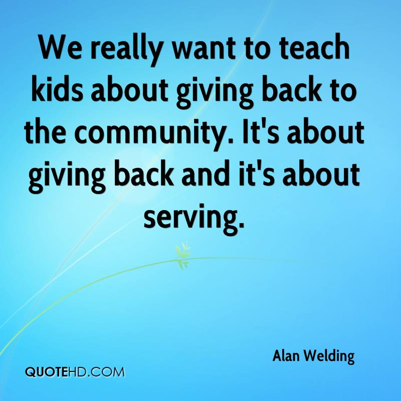 Quotes about Giving Back (148 quotes)