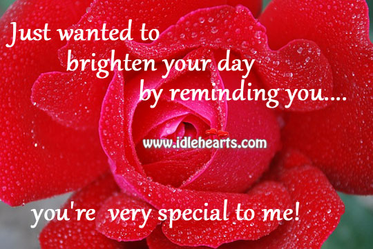 Quotes about Special To Me (221 quotes)