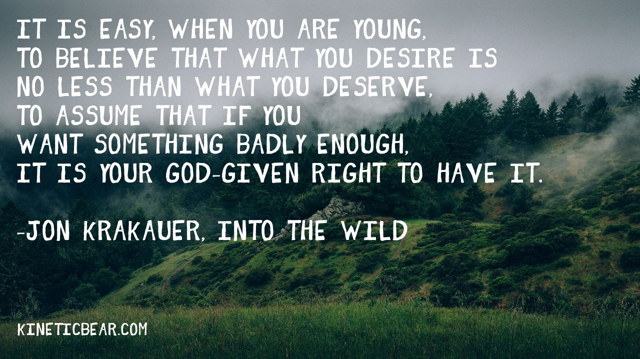 Into The Wild Book Quotes Into The Wild Book Quotes  Quotes Of The Day