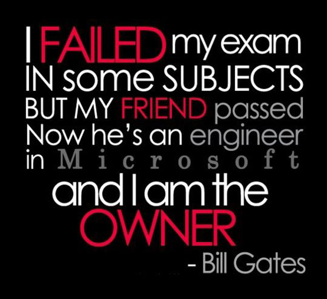 Quotes about Exam fail (31 quotes)