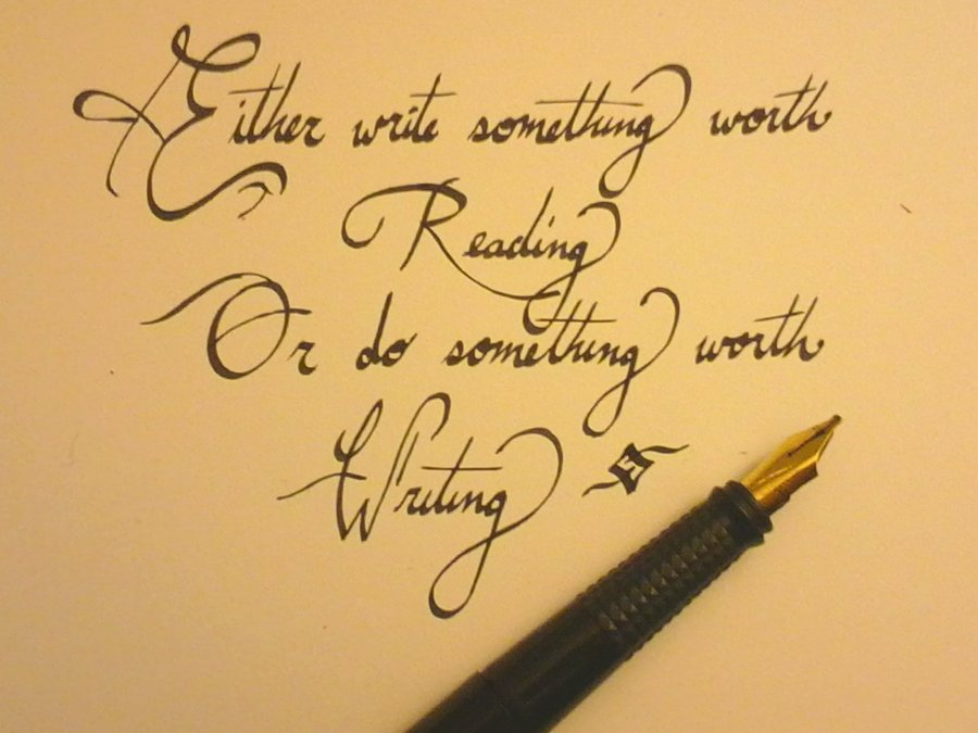 Quotes About Calligraphy 65