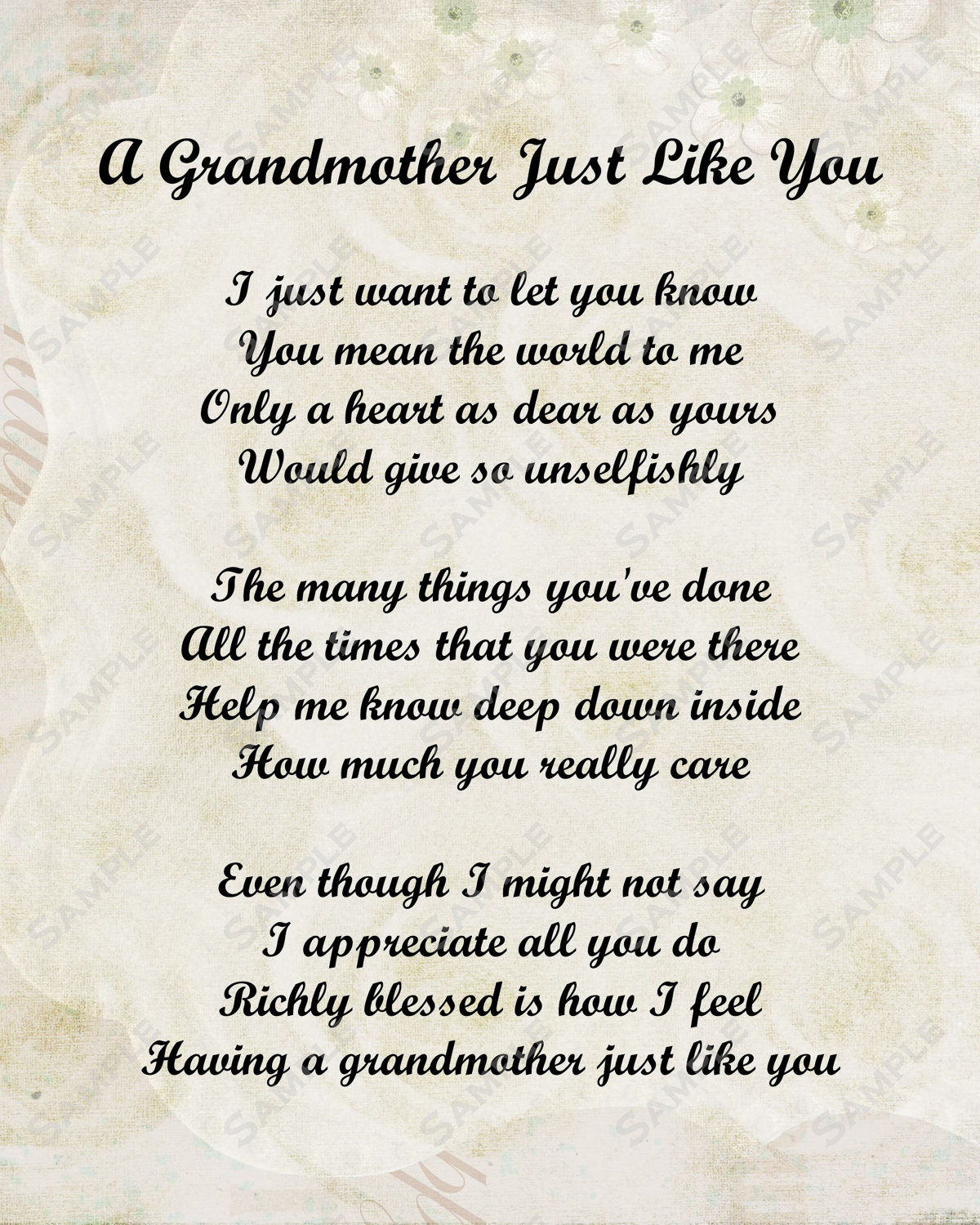 Quotes about Loving my grandmother (21 quotes)