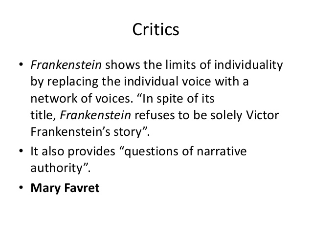 role of women in frankenstein essay The role of female characters in frankenstein summary: the female characters in mary shelley's classic novel frankenstein are linked closely to the male characters also, character sketches of mrs margaret saville, elizabeth lavenza, and justine moritz in the novel and their importance to the novel's central themes.