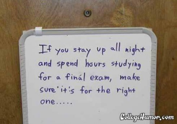 Quotes About Finals In College | www.imghulk.com
