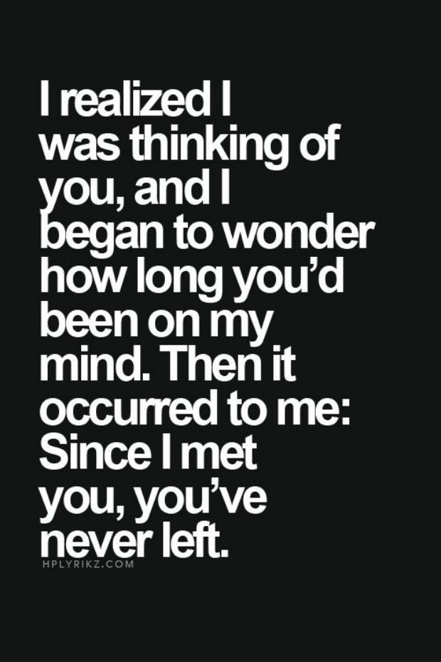 Quotes you i meaningful love 40 Best