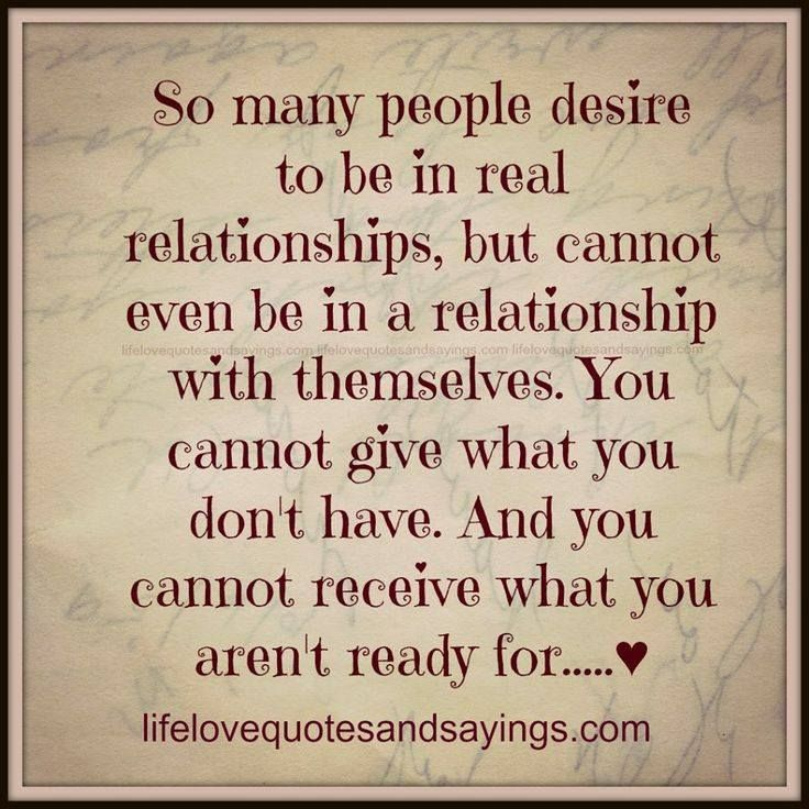Quotes about Real Relationship (100 quotes)