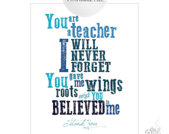 Teacher Appreciation Quotes To Say Thank You From Parents