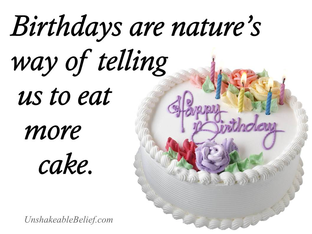 Quotes About Birthday Cake 70
