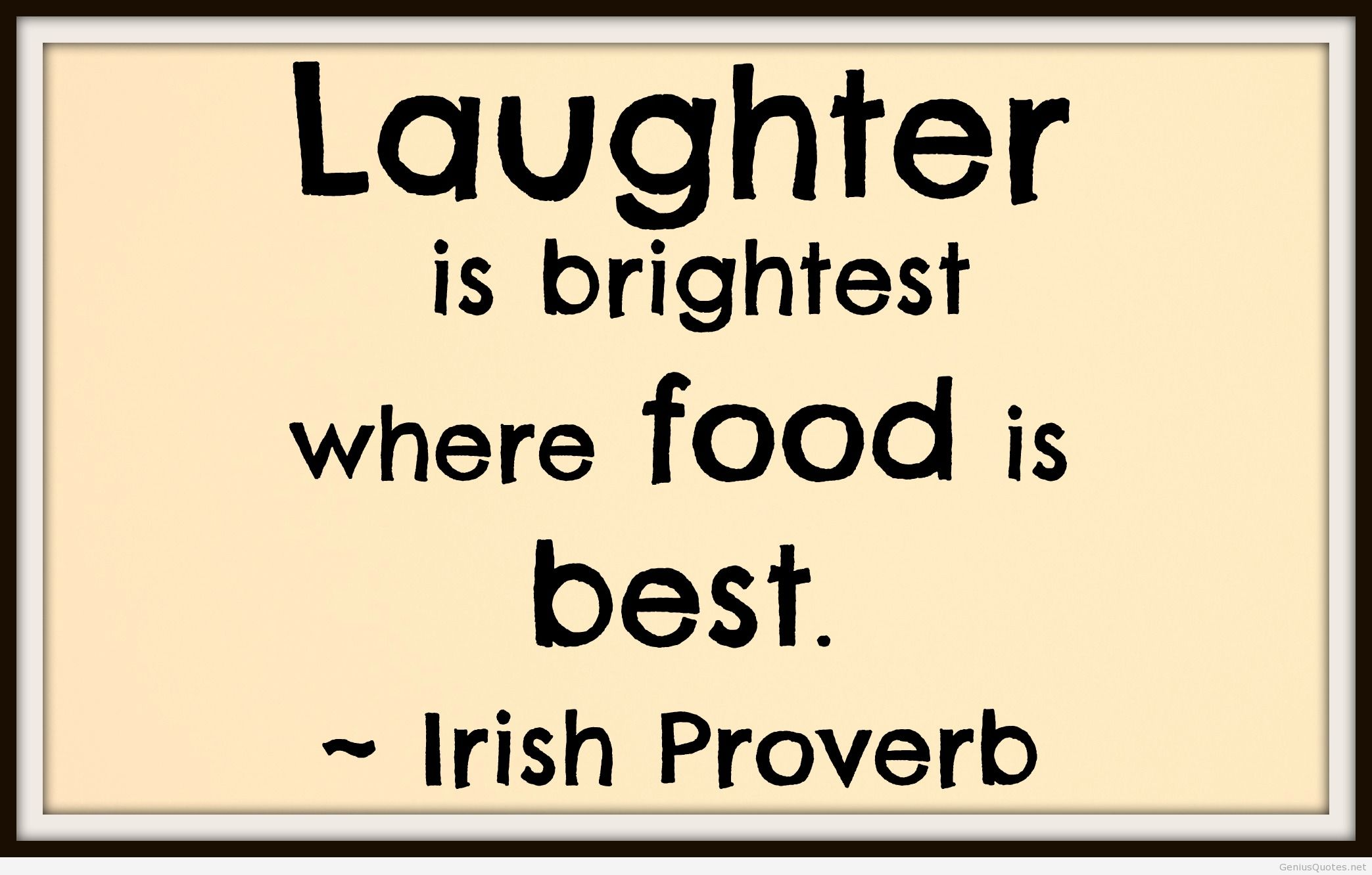 Quotes about Good food and family (5 quotes)