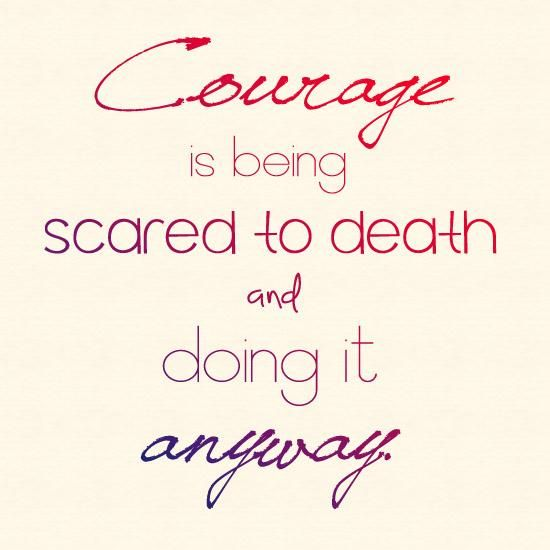 Being Scared Quotes