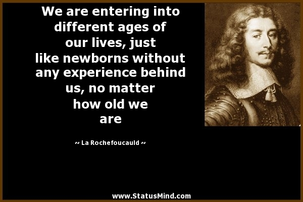 quotes about different ages quotes
