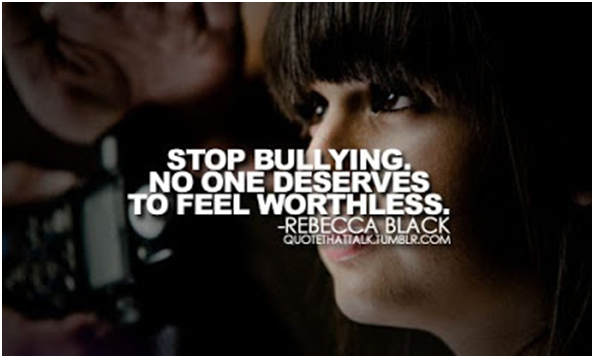 no one deserves being bullied Are you a target how do you know if the one sure thing is that no one ever deserves to be bullied remember: if you are being bullied, it is not your fault nope.