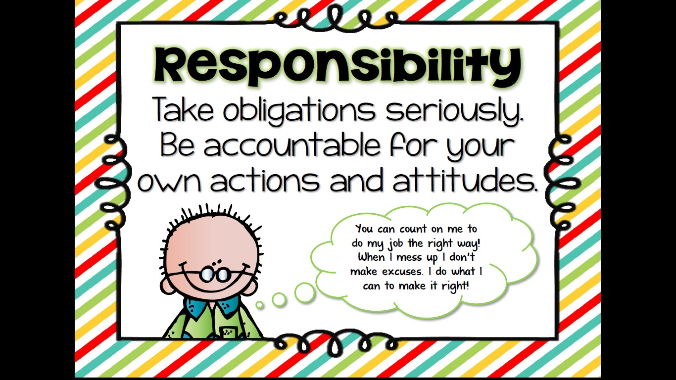 Quotes About Teaching Responsibility 15 Quotes